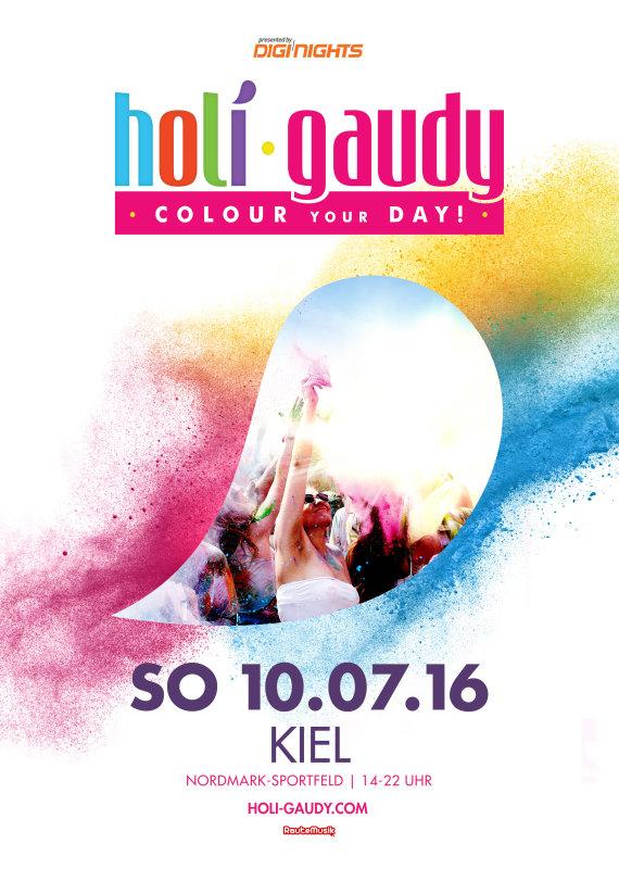 Holi Gaudy Plakat