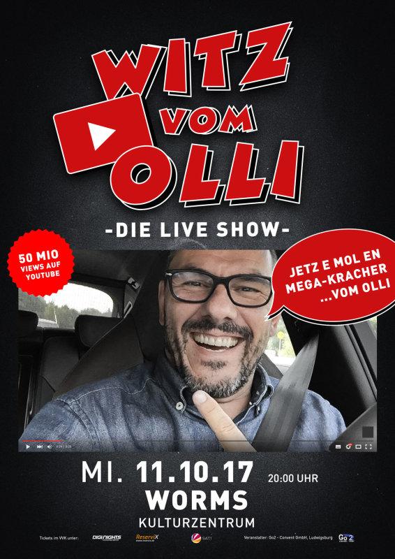 Flyer Witz vom Olli - die LIVE Show - Worms