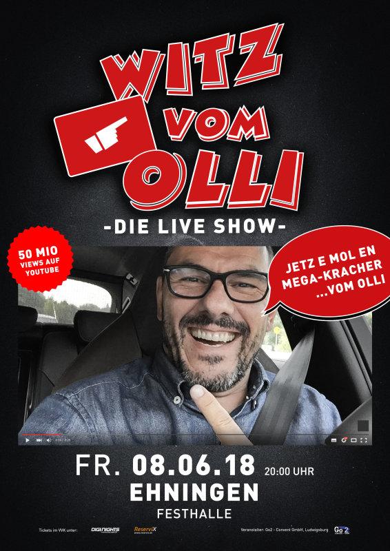 Flyer Witz vom Olli - die LIVE Show - Ehningen