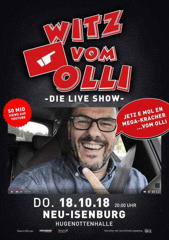 Flyer Witz vom Olli - die LIVE Show - Neu-Isenburg