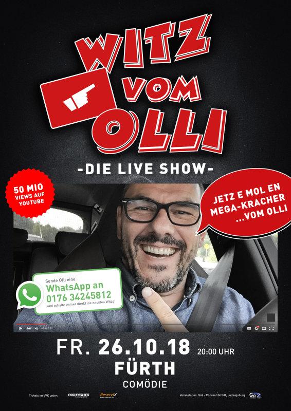 Flyer Witz vom Olli - die LIVE Show -Fürth