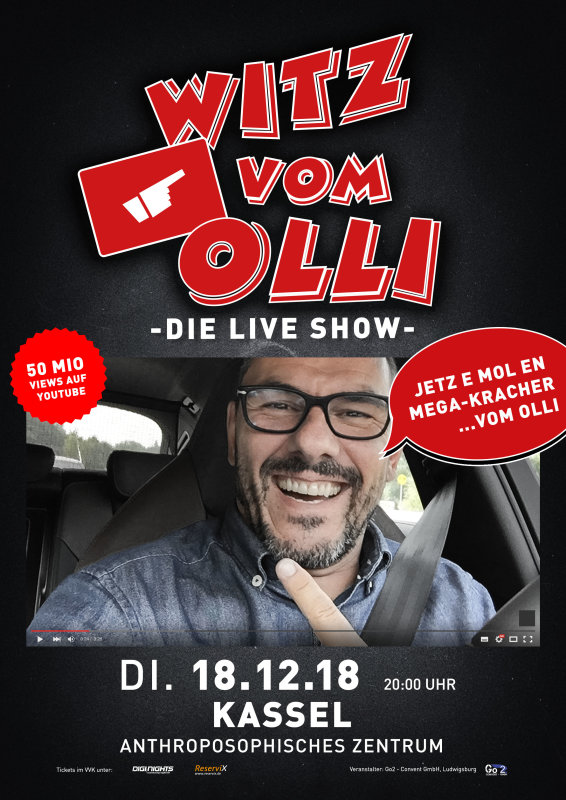 Flyer Witz vom Olli - die LIVE Show - Kassel