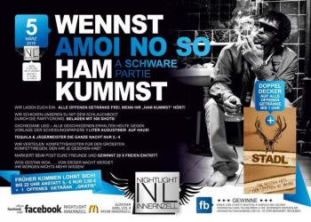Party - WENNST AMOI NO SO HAM KUMMST - A Schware Partie