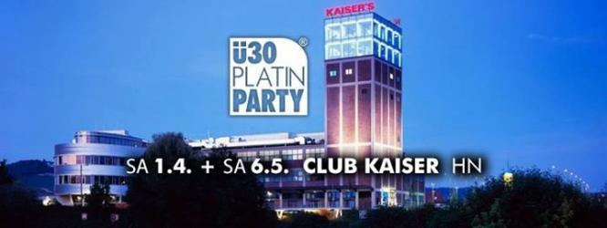 Party - Heilbronn. ü30 Platin Party im Club Kaiser - Club