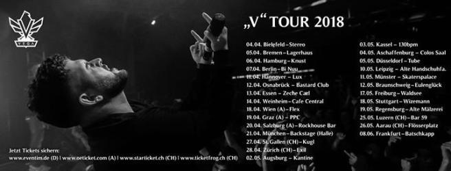 """Party - Zusatzshow • Frankfurt am Main • VEGA """"V - Tour"""