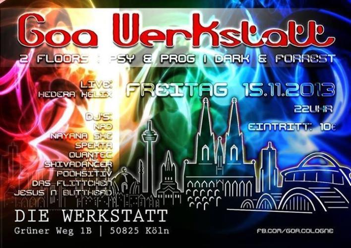 Werkstatt Köln Party