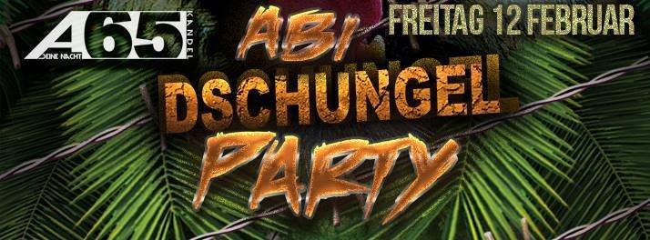 Party - ABI - Dschungelparty mit der Stufe 13 des Alfred ...