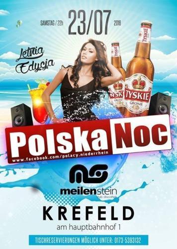 Party - Polska Noc - Meilenstein Club in Krefeld - 23.07.2016