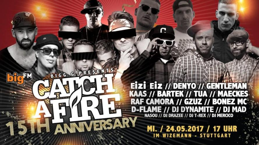 Catch A Fire Stuttgart