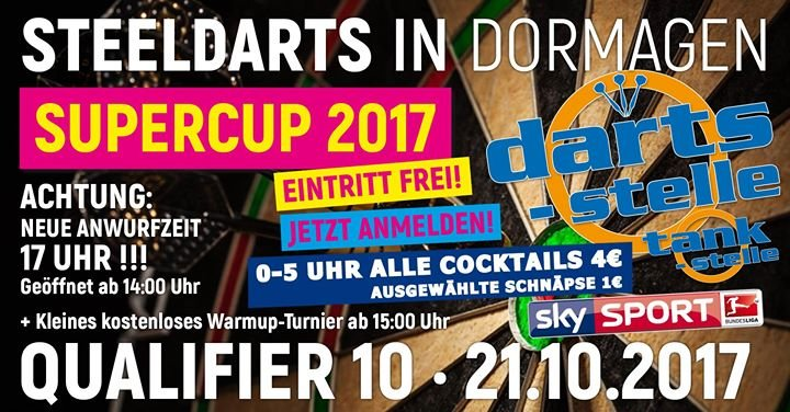Darts Finale Beginn