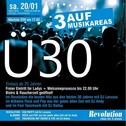 Party - Ü30 PARTY - Diskothek Revolution in Geiersthal