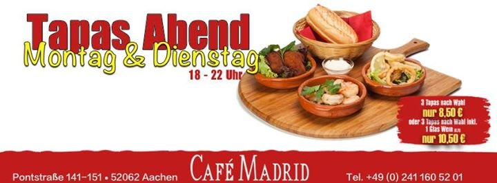 Cafe Madrid Aachen