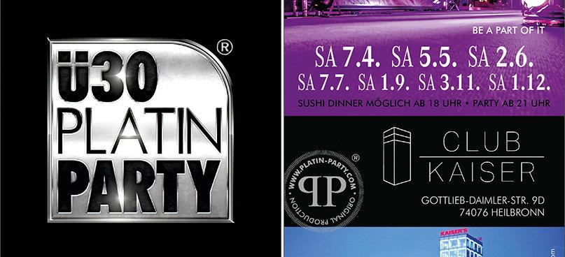 Party - Heilbronn. ü30 Platin Party - Club Kaiser Skybar