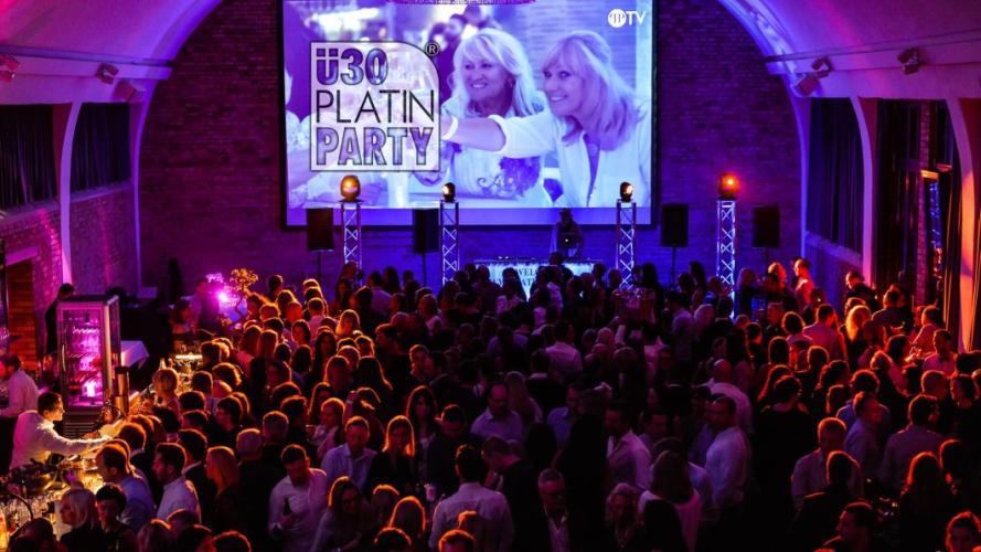 Party - Karlsruhe. ü30 Platin Party im Kesselhaus