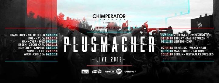 Party - Plusmacher • Live 2018 • Frankfurt - Nachtleben in