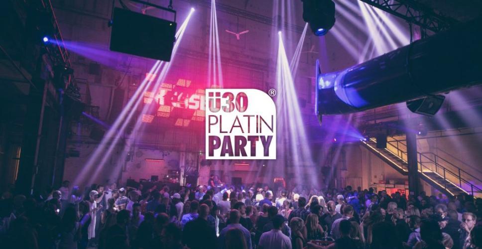Party - Augsburg. ü30 Platin Party im Kesselhaus