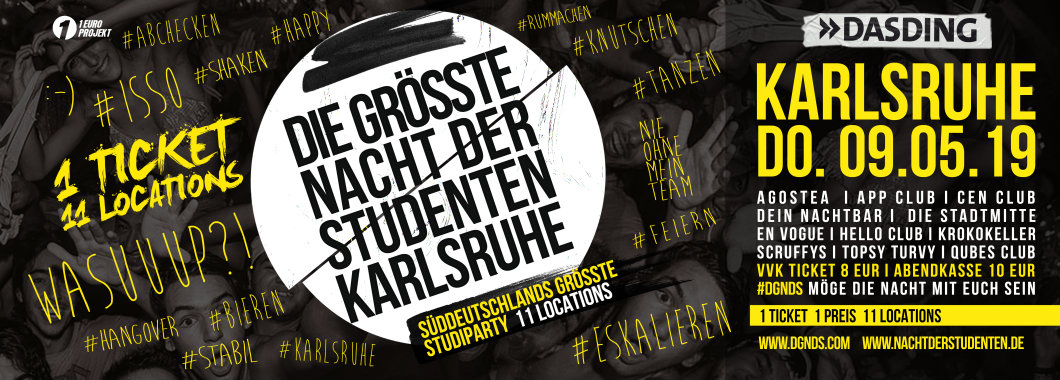Nacht Der Studenten Karlsruhe