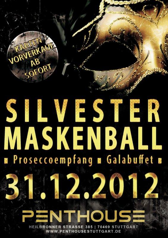 party silvester 2012 2013 maskenball im penthouse. Black Bedroom Furniture Sets. Home Design Ideas