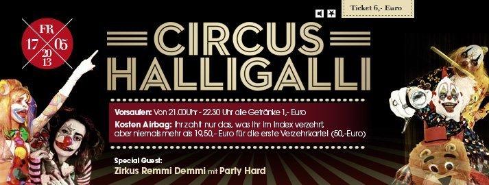 Party Circus Halligalli Club Index In Schüttorf 18052013