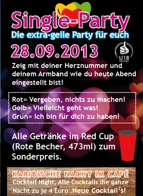Single party bochum 2013
