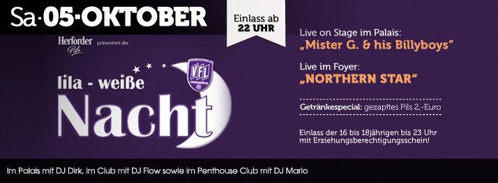 Party Lila Weiße Nacht Des Vfl Osnabrück Alando Palais In