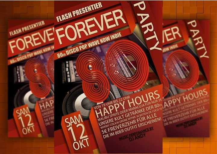 Party - Forever the 80\'s - Flash in Bad Marienberg - 12.10.2013