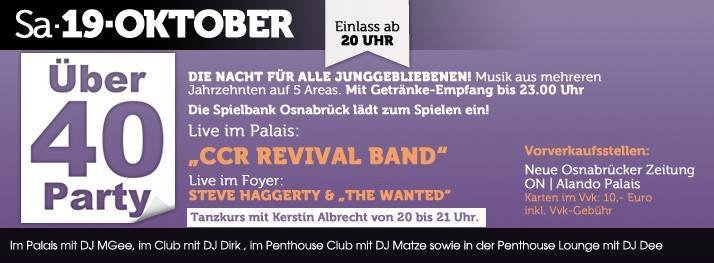 über 40 party osnabrück