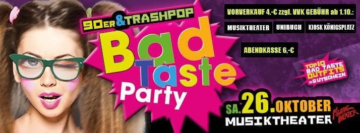 Bad Taste Party Deko