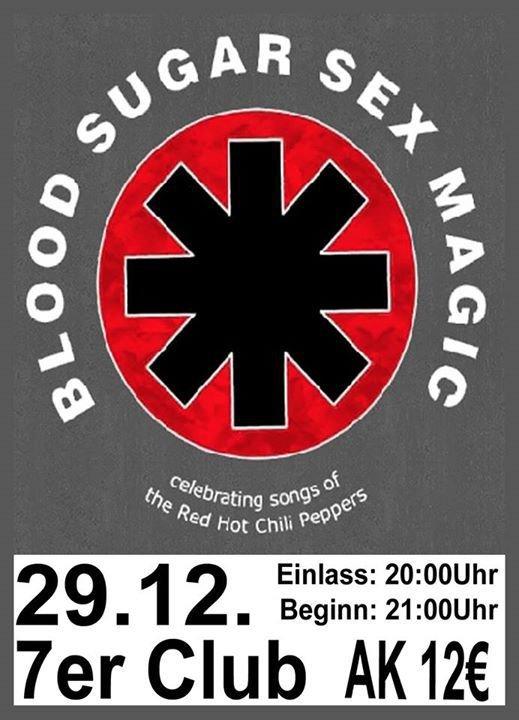 Something Blood sugar sex magik tour poster