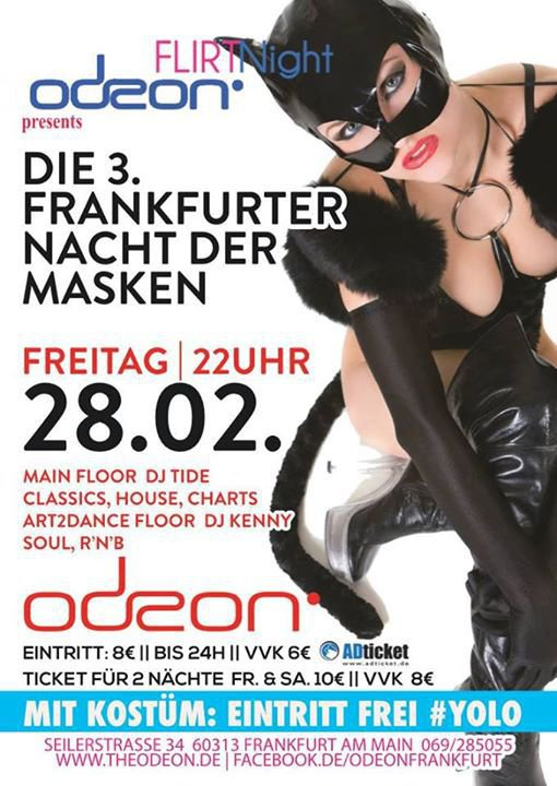 Odeon frankfurt single party