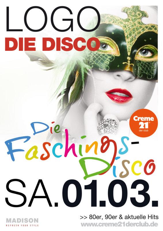 Bilder Logo Die Faschings Disco Creme 21 Der Club In