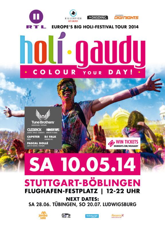 Holi Gaudy Stuttgart