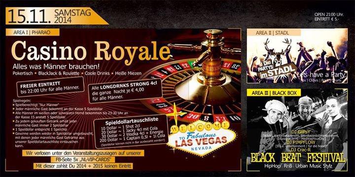getränk casino royal