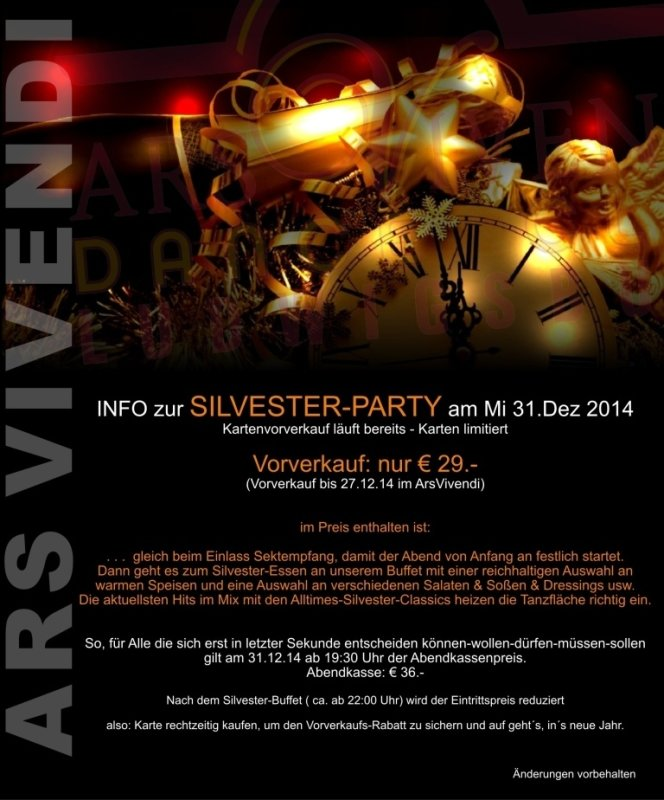 Ars vivendi ludwigsburg single party