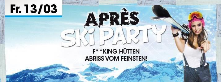 party apres ski party nachtwerk in m lheim k rlich. Black Bedroom Furniture Sets. Home Design Ideas