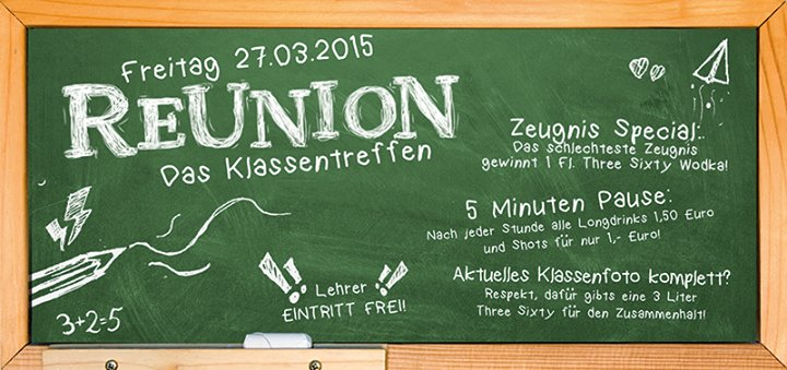 Party - Reunion - Das Klassentreffen - Flash in ...