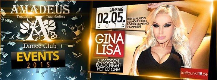 Party Gina Lisa Treffpunkt 18 Amadeus Dance Club Discostadl