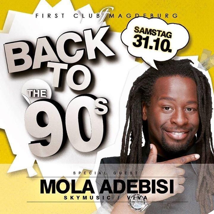 Adebisi Hat: 90er Party Mit Mola Adebisi & DJ Henne