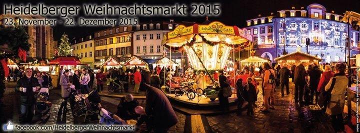 öffnungszeiten Weihnachtsmarkt Heidelberg.Party Heidelberger Weihnachtsmarkt 2015 Heidelberg In Heidelberg