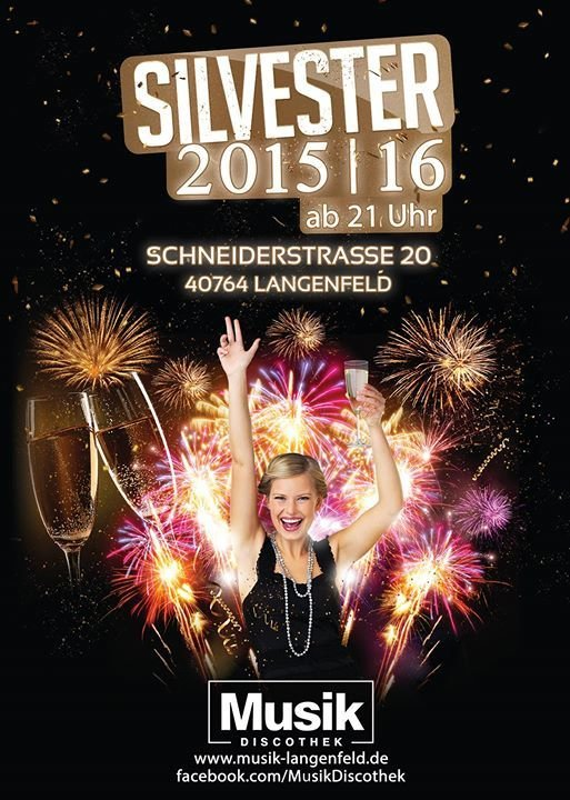 Party Silvester Party 2015 2016 Musik Langenfeld In