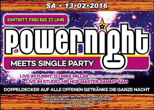 Halli galli wiesloch single party