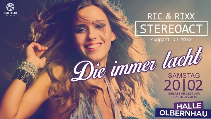 Party Die Immer Lacht Stereoact Live At Halle Olbernhau Halle