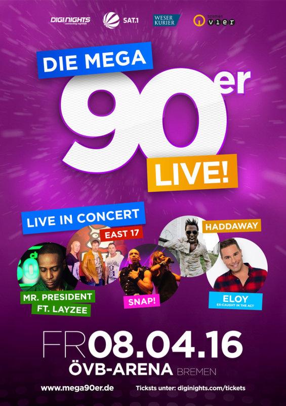 Mega 90er Bremen