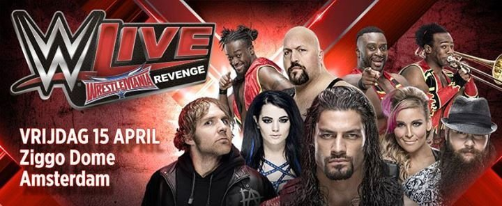 event live wrestlemania revenge tickets