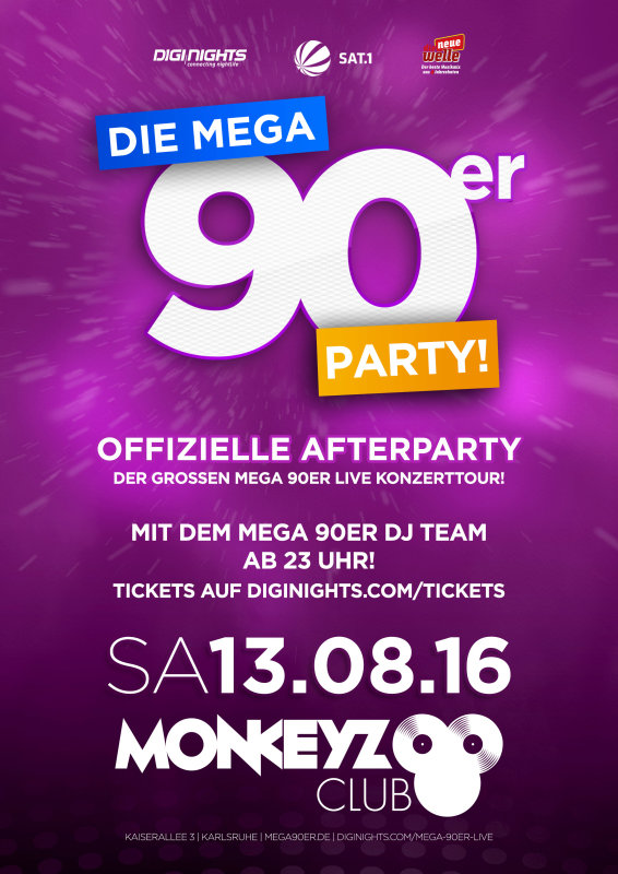 karlsruhe 90er party