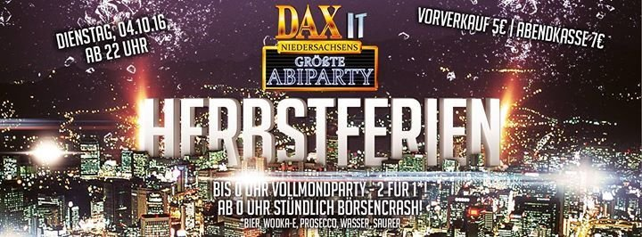 Dax bierbörse hannover single party