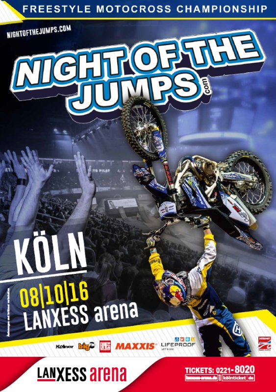 Event Night Of The Jumps Lanxess Arena In Köln 08102016