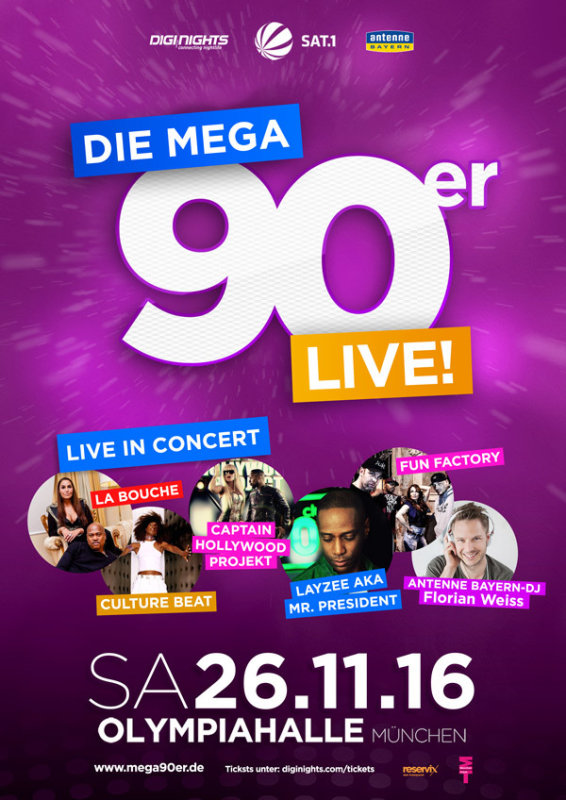 Bilder Die Mega 90er Live Das Konzert München Olympiahalle