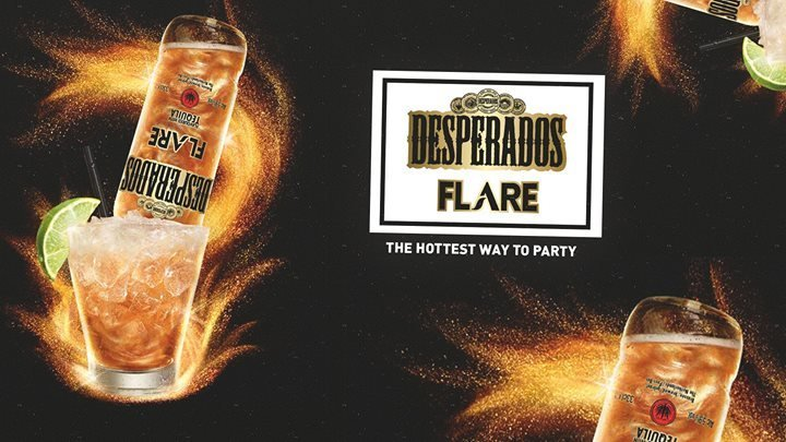 Party Desperados Flare The Hottest Way To Party Musikpark A1 In Linz 07 12 2016