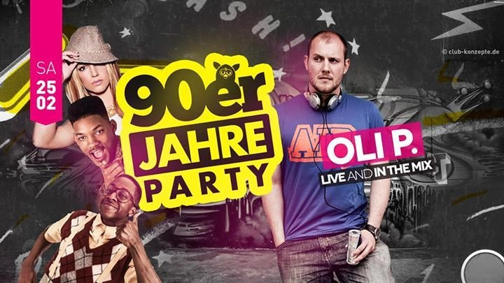 Party 90er Party 18 Mit Oli P Funpark Hannover In Hannover